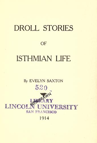 Download Droll stories of Isthmian life