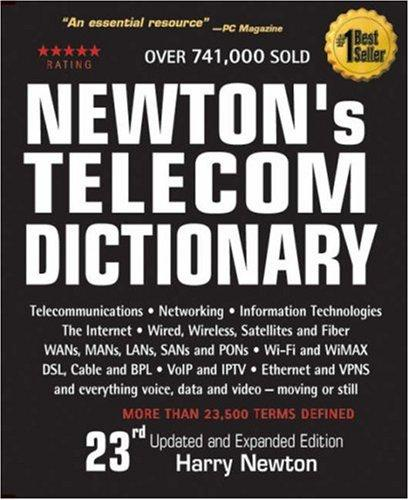 Download Newton's Telecom Dictionary