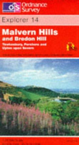Malvern Hills and Bredon Hill (Explorer Maps)