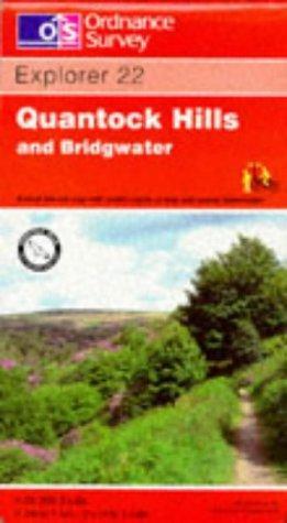 Download Quantock Hills and Bridgwater (Explorer Maps)