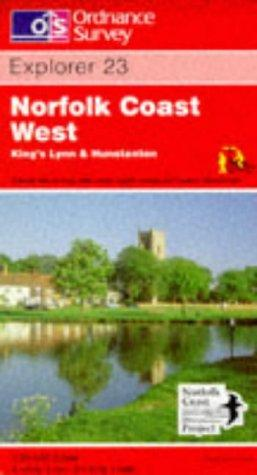 Norfolk Coast West – King's Lynn and Hunstanton (Explorer Maps)