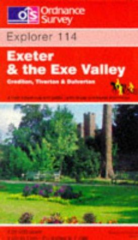 Download Exeter and the Exe Valley (Explorer Maps)