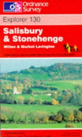 Salisbury and Stonehenge (Explorer Maps)