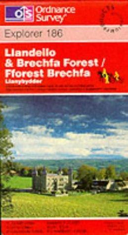 Download Llandeilo and Brechfa Forest (Explorer Maps)