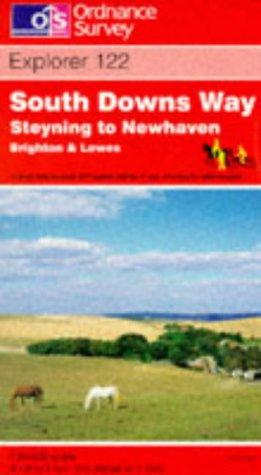 Download South Downs Way – Steyning to Newhaven (Explorer Maps)