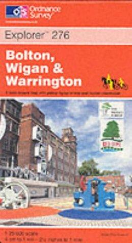 Bolton, Wigan and Warrington (Explorer Maps)