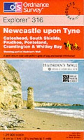 Newcastle Upon Tyne (Explorer Maps)