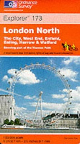 London North (Explorer Maps)