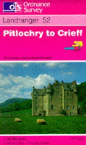 Pitlochry to Crieff (Landranger Maps)