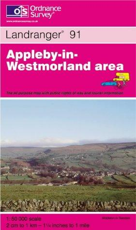 Download Appleby-in-Westmorland (Landranger Maps)