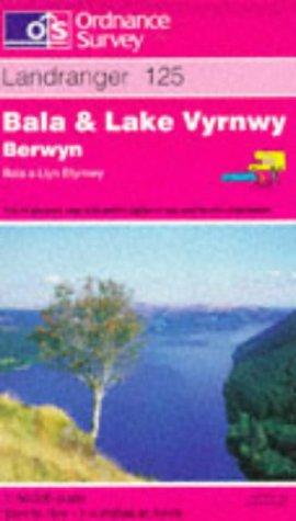 Download Bala and Lake Vyrnwy (Berwyn-Bala a Llyn Efyrnwy) (Landranger Maps)