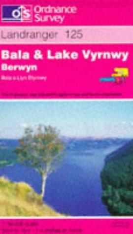 Bala and Lake Vyrnwy (Berwyn-Bala a Llyn Efyrnwy) (Landranger Maps)