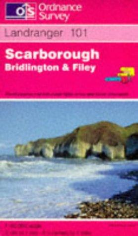 Scarborough, Bridlington and Filey (Landranger Maps)