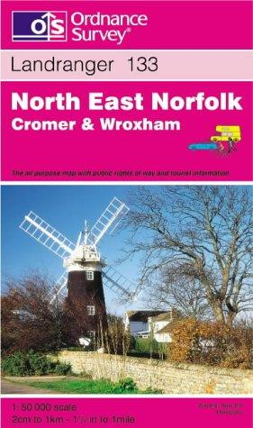 North East Norfolk, Cromer and Wroxham (Landranger Maps)