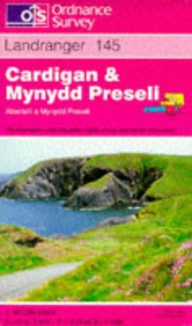 Download Cardigan and Mynydd Preseli (Landranger Maps)