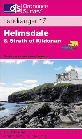 Helmsdale and Strath of Kildonan (Landranger Maps)