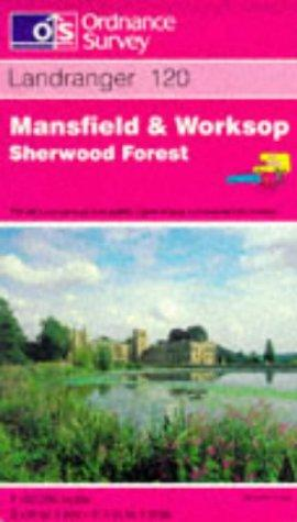 Mansfield and Worksop, Sherwood Forest (Landranger Maps)