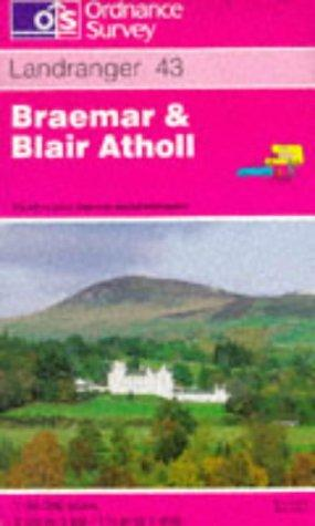 Braemar and Blair Atholl (Landranger Maps)
