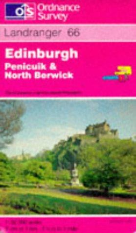 Edinburgh, Penicuik and North Berwick (Landranger Maps)
