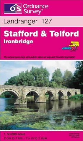 Download Stafford and Telford, Ironbridge (Landranger Maps)