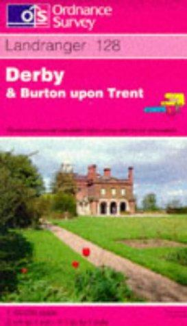 Derby and Burton-upon-Trent (Landranger Maps)