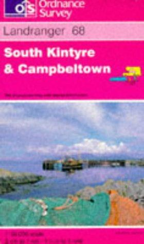 South Kintyre and Campbeltown (Landranger Maps)