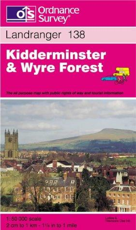 Kidderminster and Wyre Forest (Landranger Maps)