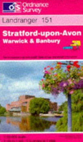 Stratford-upon-Avon, Warwick and Banbury (Landranger Maps)