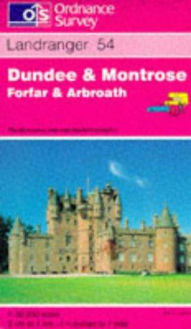 Dundee and Montrose, Forfar and Arbroath (Landranger Maps)