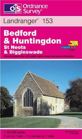 Download Bedford and Huntingdon, St.Neots and Biggleswade (Landranger Maps)