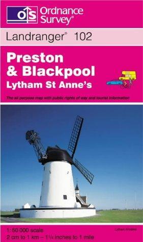 Download Preston and Blackpool, Lytham St.Anne's (Landranger Maps)