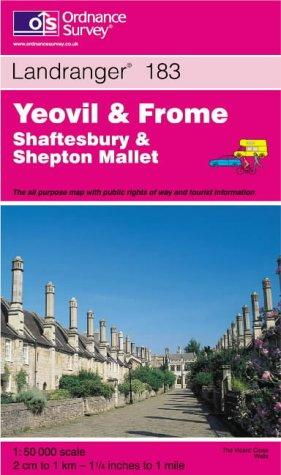 Download Yeovil and Frome, Shaftesbury and Shepton Mallet (Landranger Maps)