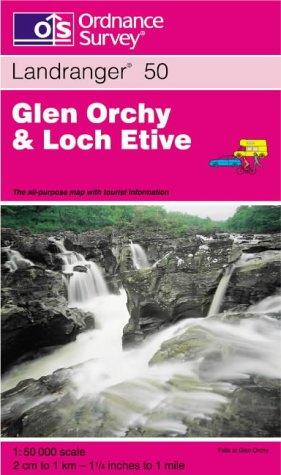 Download Glen Orchy and Loch Etive (Landranger Maps)