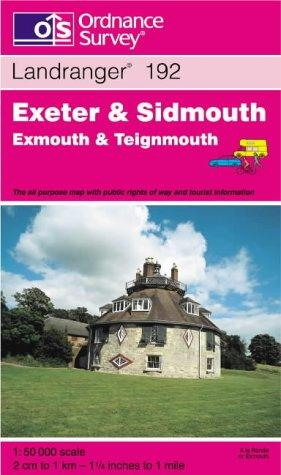 Exeter and Sidmouth, Exmouth and Teignmouth (Landranger Maps)