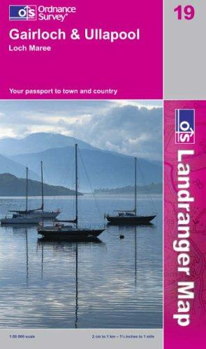 Download Gairloch and Ullapool, Loch Maree (Landranger Maps)