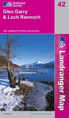 Download Glen Garry and Loch Rannoch (Landranger Maps)