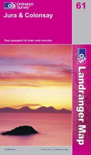 Download Jura and Colonsay (Landranger Maps)