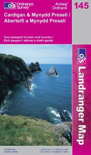 Download Cardigan and Mynydd Preseli (Landranger Maps)