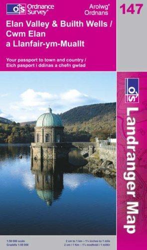 Elan Valley and Builth Wells (Landranger Maps)