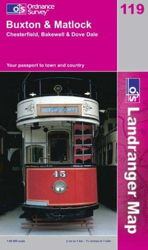 Download Buxton and Matlock, Bakewell and Dove Dale (Landranger Maps)