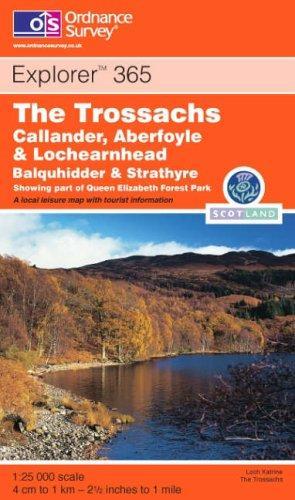 The Trossachs (Explorer Maps)