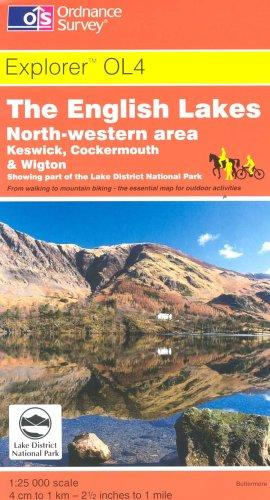 The English Lakes (Explorer Maps)