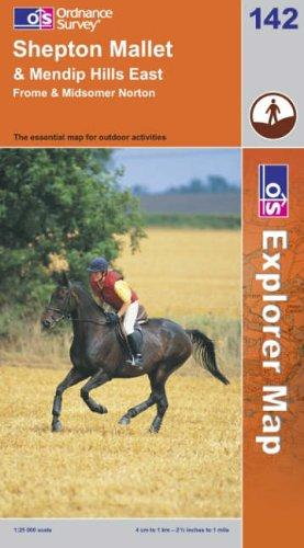 Download Shepton Mallet and Mendip Hills East (Explorer Maps)