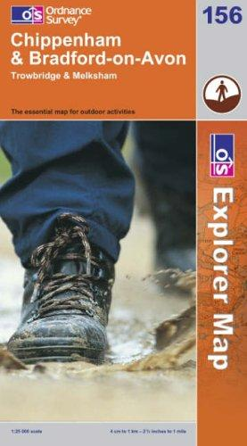 Download Chippenham and Bradford-on-Avon (Explorer Maps)
