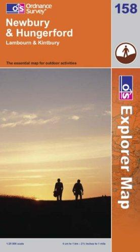 Download Newbury and Hungerford (Explorer Maps)