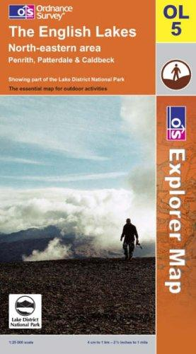 Download The English Lakes (Explorer Maps)