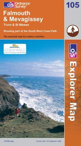 Falmouth and Mevagissey (Explorer Maps)