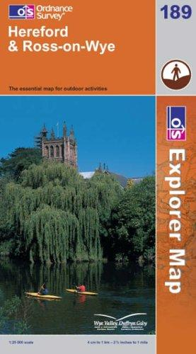 Download Hereford and Ross-on-Wye (Explorer Maps)