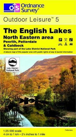 Download The English Lakes (Outdoor Leisure Maps)
