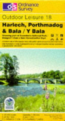 Harlech, Porthmadog and Bala/Y Bala (Outdoor Leisure Maps)